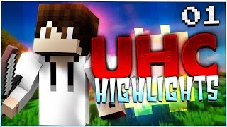 Minecraft UHC Highlights: E1 - Dream Team!