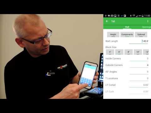 Fox Blocks Project Estimator PRO4 Mobile Intro