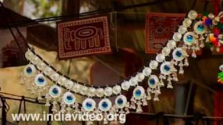 Silver ornaments from Gujarat