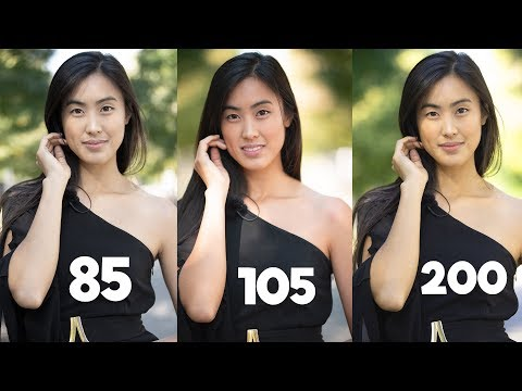 85mm vs 105mm vs 70-200mm - Best Portrait lens?