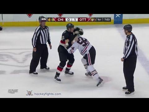 Brandon Bollig vs Chris Neil