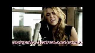 Miley Cyrus & David Archuleta - I wanna know you [Traducida al español] Quiero conocerte