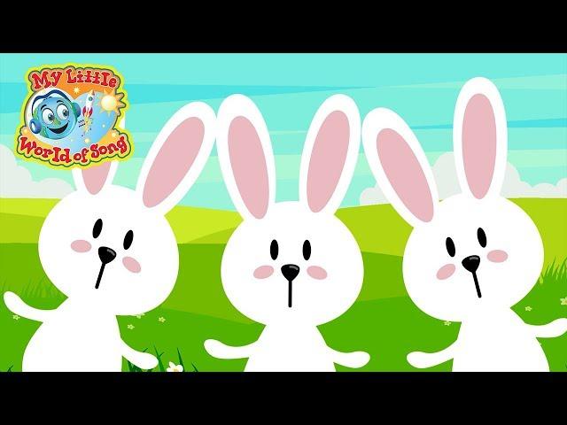 Hop Little Bunnies | Sing A Long | Action Song | Hop Hop Hop