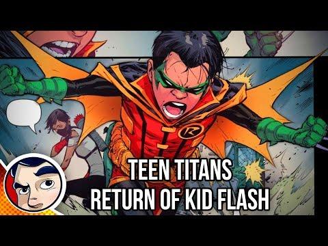 "Teen Titans ""Return of Kid Flash"" – Rebirth Complete Story"