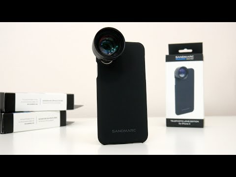 SANDMARC Telephoto 2x Zoom Lens For iPhone X Review & Photo Samples