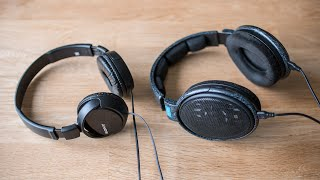 """Sony MDR-ZX110 - """"audiophile highend"""" sound for $10?"""