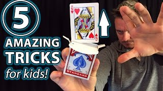 5 Awesome Magic Tricks for Anyone!!