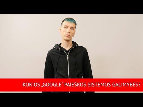 """""""Verslo patarimai su """"bzn start"""": Google paieškos galimybės"""