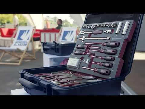 Kraftwerk ® 3993 100-tlg. Nautik Universal-Werkzeugkoffer Anwendungsbeispiel