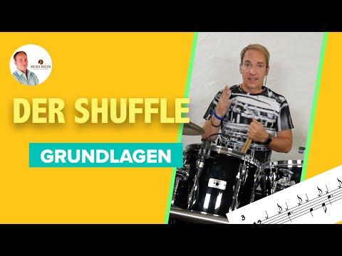 Der Shuffle – Grundlagen – Schlagzeug lernen für Anfänger und Fortgeschrittene – mit Rudi Hein