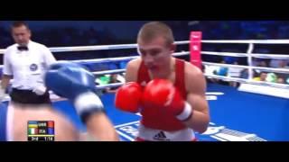 ЧЕ-2017 по боксу. До 75 кг. Александр Хижняк (Украина) - Сальваторе Кавальяро (Италия).
