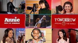 映画『ANNIE / アニー』テーマソング「Tomorrow」アラウンド・ザ・ワールド・クリップ