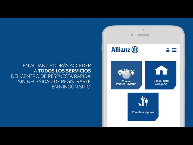 pedir una grua allianz
