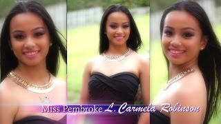 Miss Pembroke 2014 L. Carmela Robinson Interview