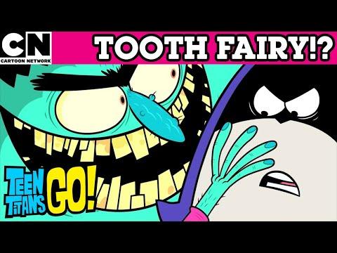 Teen Titans Go! | Meet the Tooth Fairy | Cartoon Network UK 🇬🇧