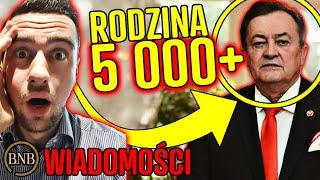 500+ mało? BĘDZIE 5 000 zł dla KAŻDEJ rodziny! | WIADOMOŚCI