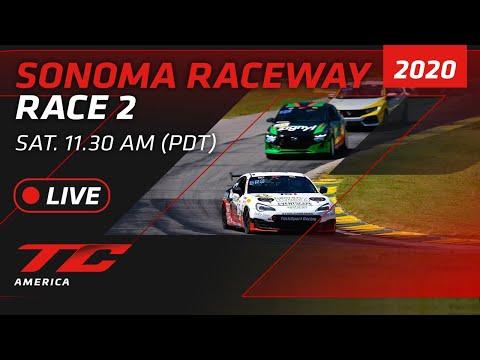 2020年 ブランパンGTワールドチャレンジ・アメリカ(ソノマ) レース2ライブ配信動画