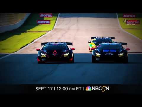 IMSA WTSC Lamborghini Super Trofeoハイライト動画