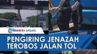 Empat Orang Pengantar Jenazah Terobos Jalan Tol hingga Aniaya Petugas, Kini Ditangkap Polisi