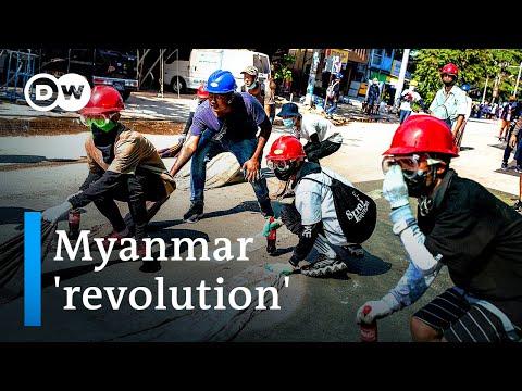Myanmar protesters defiant as military attacks medical volunteers | DW News