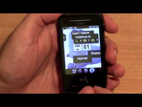 SPICE FLO M 5700 Dual Sim Budget Phone Unboxing and full re
