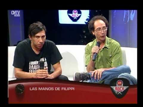 Las Manos de Filippi video Entrevista CM Rock - Diciembre 2014