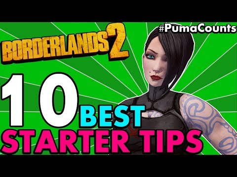 Top 10 Best Starter and Beginner Tips for Borderlands 2 (Class & Weapon Recommendations) #PumaCounts