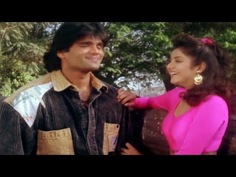 Sunil Shetty, Divya Bharti, Balwaan -  Romantic Scene 7/24
