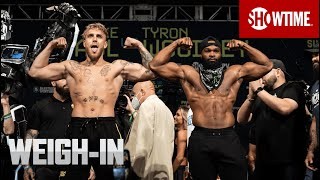Paul vs. Woodley: Weigh-In   SHOWTIME PPV
