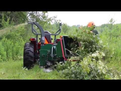 video thumbnail for WC88 PTO-Holzhäcksler (20 cm)