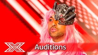 Kazzey gets controversial with surgery song | Auditions Week 3 | The X Factor UK 2016