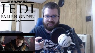 Star Wars Jedi: Fallen Order — Official Reveal Trailer Reaction!