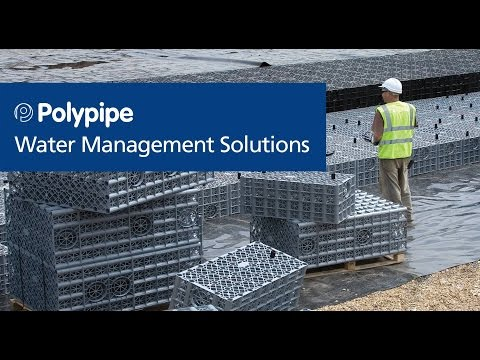 Polypipe - Water Management Solutions - Infiltratiekratten