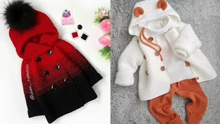 Gorgeous And Stylish Hand Knitting Baby Coat New Designs