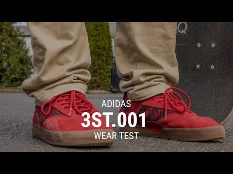 Adidas 3st.001 Skate Shoes Wear Test Review - Tactics.com