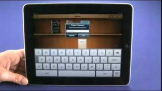 Using the iPad as an ebook reader with iBooks