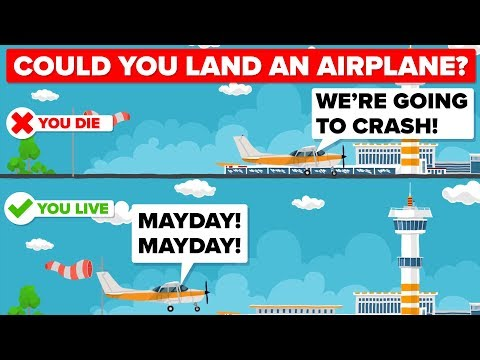 Could You Land An Airplane In An Emergency By Yourself?