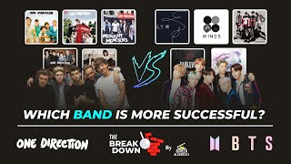 One Direction Vs BTS : Which Band Is More Successful? - 2020 Edition
