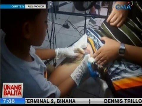 [GMA]  UB: 9-year old tattoo artist, viral