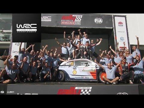 WRC - Kennards Hire Rally Australia 2017: WINNER Thierry Neuville