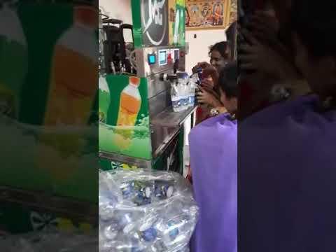 Mini Soda Bottle Filling Plant
