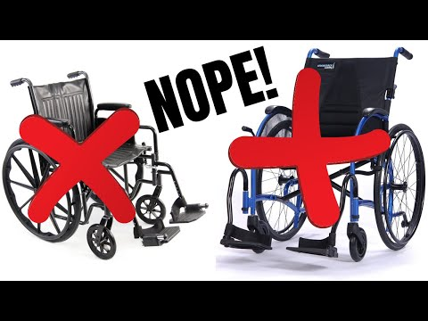 I have a problem with wheelchairs...*FOR ME*