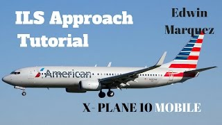 X- Plane 10 MOBILE: How to fly to a VOR [Boeing 737-800