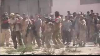 Libyan Army Forces Attack on ISIS in Sirte - 29 August 2016