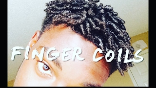 Finger Coils Tutorial!