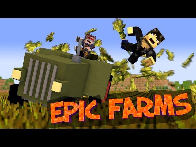 Minecraft Tractor Mod
