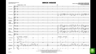 Brick House Arranged By Michael Brown Chords