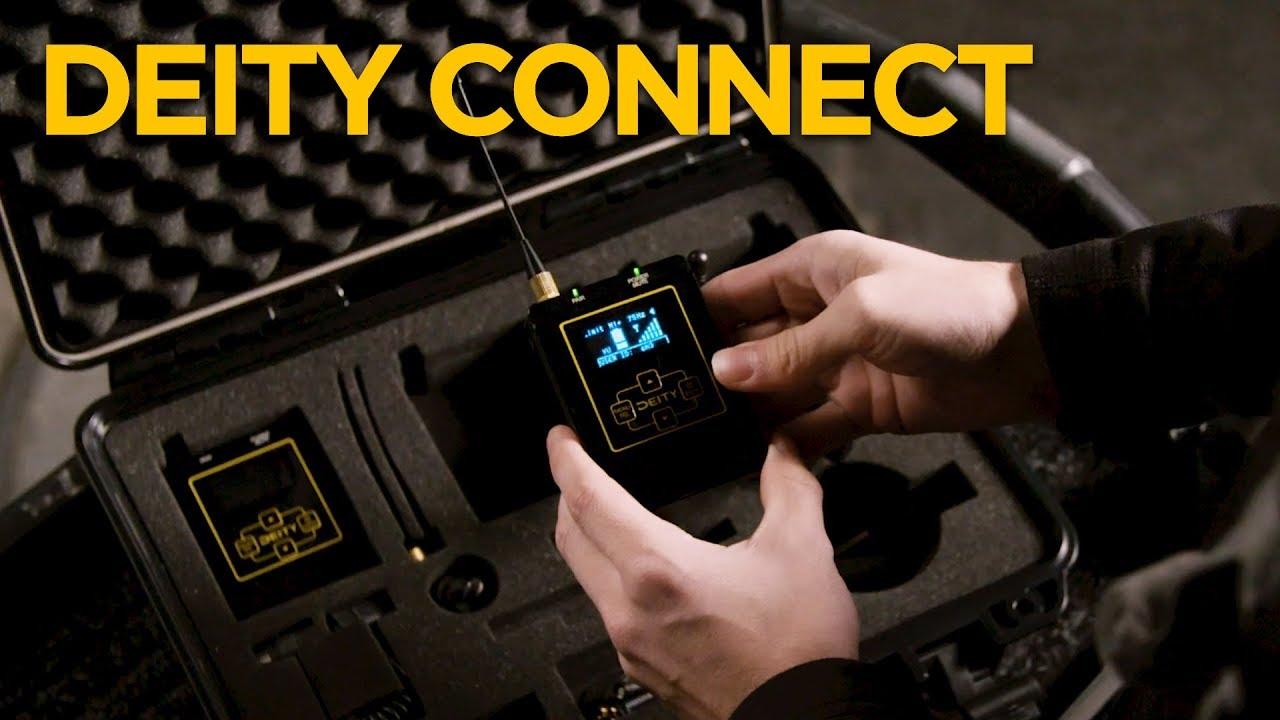 סט אלחוטי 2.4Ghz הכולל 2 משדרים ומקלט דו ערוצי Deity Connect