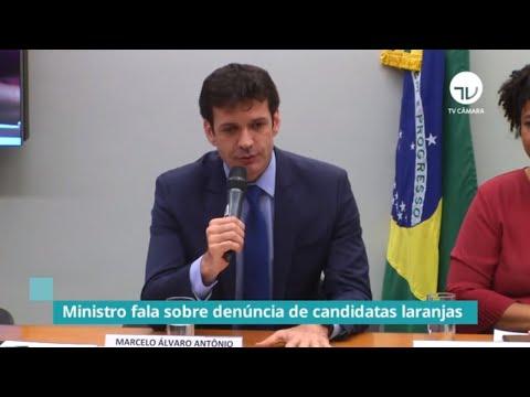 Ministro fala sobre denúncia da candidatas laranjas - 20/11/19