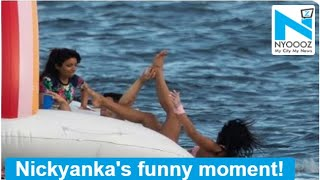 Nick Jonas pushes wifey Priyanka Chopra into the sea on birthday